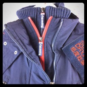 Superdry Women's Wind Yachter Jacket Navy Size XS